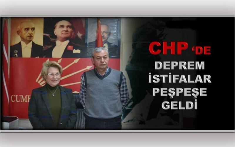 CHP İL TEŞKİLATI İSTİFA ETTİ