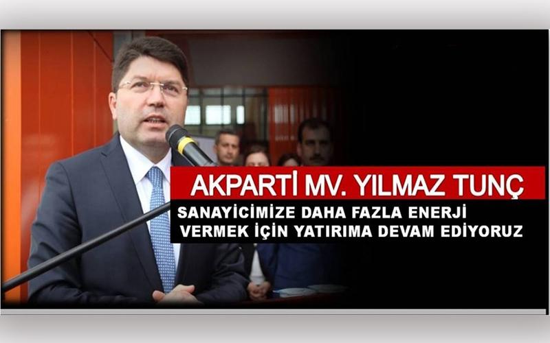 ENERJİ YATIRIMLARI DEVAM EDİYOR...