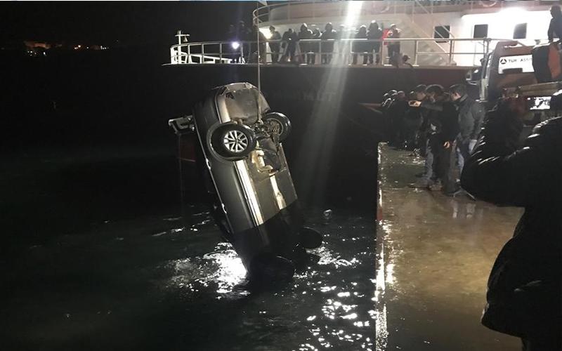 Denize uçtu, 2 kişi kurtarıldı