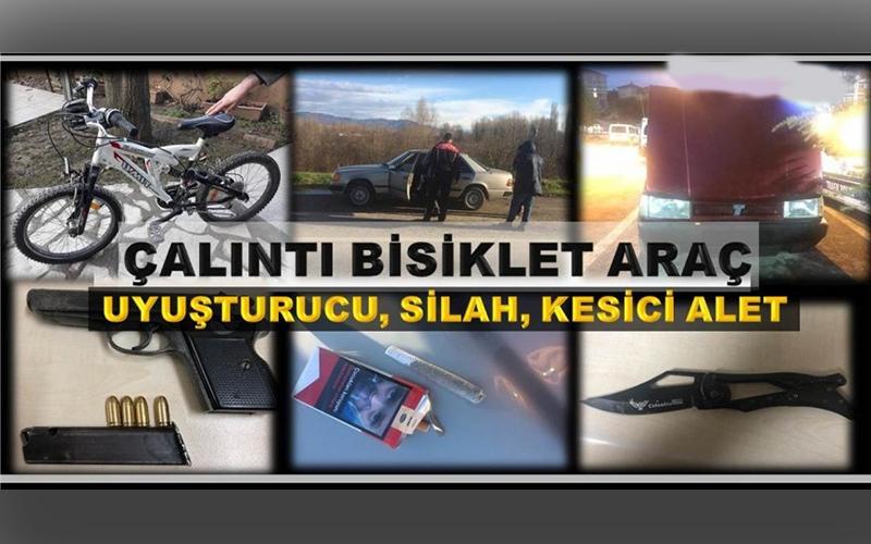 İŞTE DENETİMLERDE ELE GEÇİRİLENLER