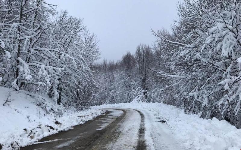 Kar yüksek kesimlerde etkili oldu