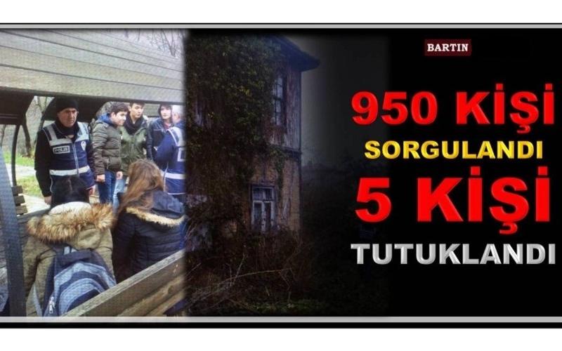 DENETİMLERDE 950 KİŞİ SORGULANDI