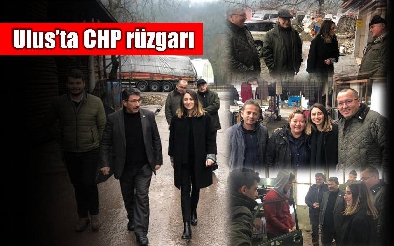 ULUS'TA CHP RÜZGARI
