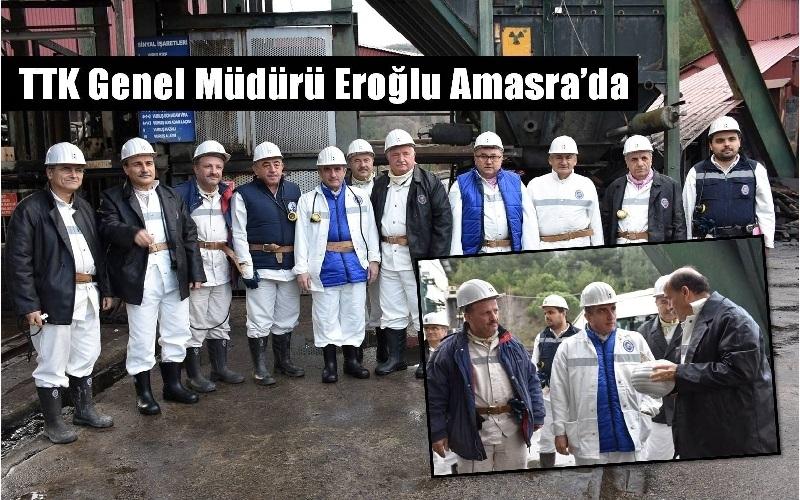 TTK GENEL MÜDÜRÜ AMASRA'DA