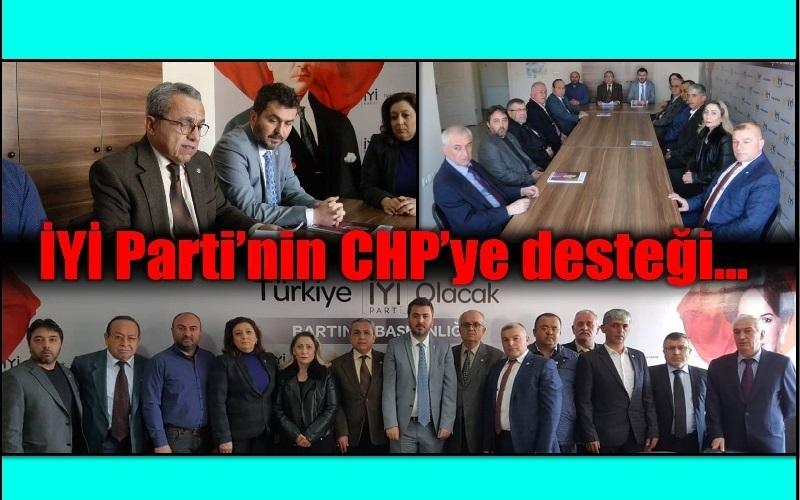 İYİ PARTİ'DEN LİSTE VE CHP'YE DESTEK AÇIKLAMASI