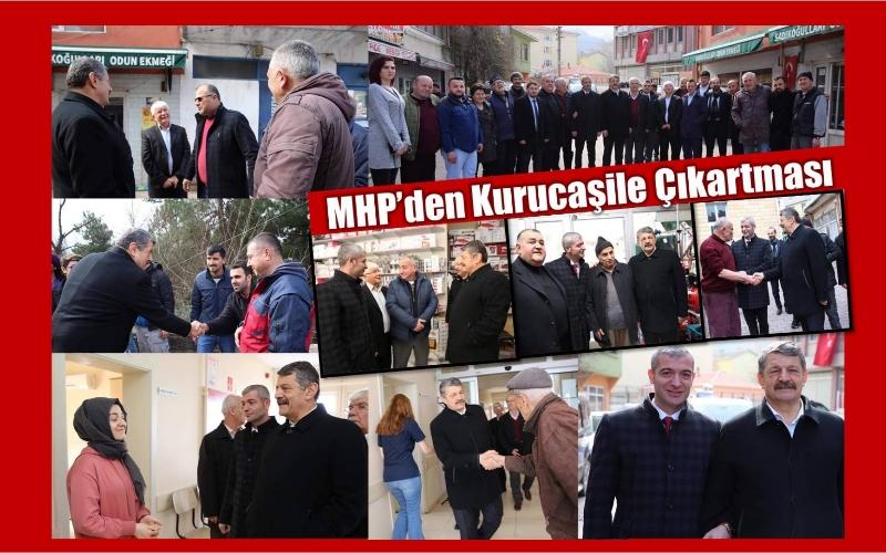 MHP'DEN KURUCAŞİLE ÇIKARTMASI