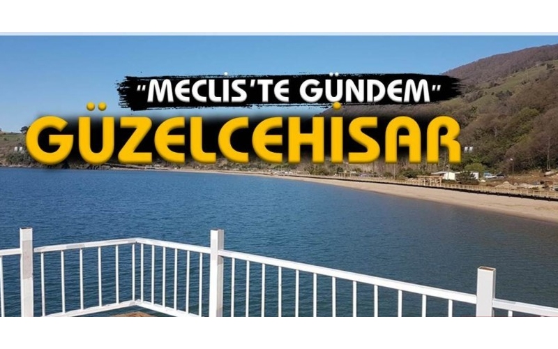 MECLİS'TE GÜNDEM GÜZELCEHİSAR OLDU