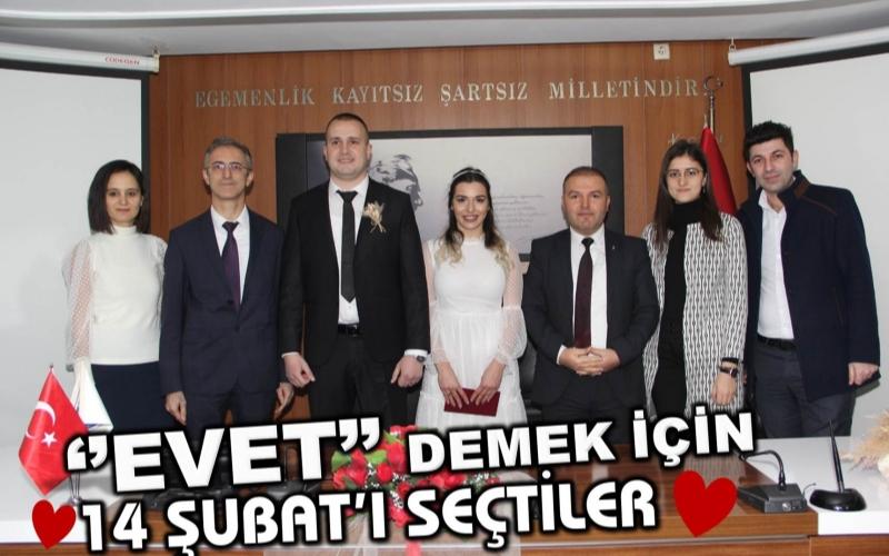 """""""EVET"""" DEMEK İÇİN 14 ŞUBATI SEÇTİLER"""