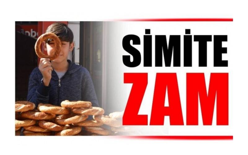SİMİT FİYATLARI ZAMLANDI