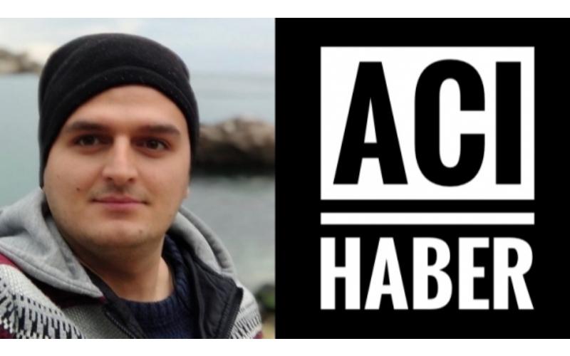 ACI HABER HASTANEDEN GELDİ