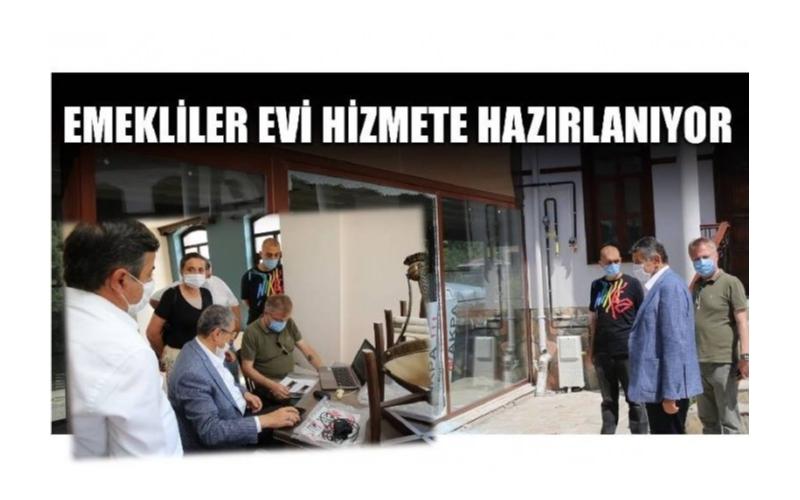 EMEKLİLER EVİ'NDE SONA GELİNDİ
