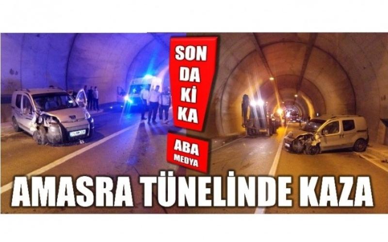 TÜNEL'DE KAZA