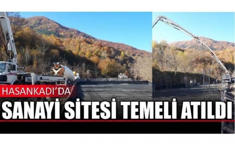 HASANKADI'DA SANAYİ SİTESİ İNŞA EDİLİYOR