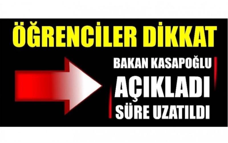 ÖĞRENCİLER DİKKAT!