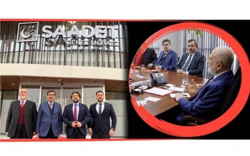 SAADET PARTİSİ BARTIN TEŞKİLATI ANKARA'DA